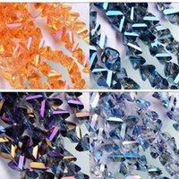 Triangoli perline per gioielli facendo rifornimenti di accessori moda fai da te colori abbaglianti creativo donna uomo uomo cristallo charms 9 8zl5 k2