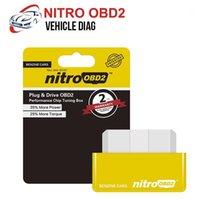 단일 PCB EcoBD2 니트로 OBD2 벤젠 에코 OBD2 ECU 칩 튜닝 박스 용 ECU 칩 튜닝 박스 15 % 연료 절약 POWER1