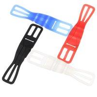 OFASERL-Fahrrad-Fahrrad-Radfahren-Silikon-elastisches Riemen-Bandage-Festhalter für das Handy