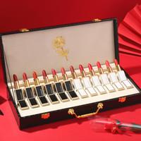 Makeup Set Limited подарочная коробка Valentine's Day роскошная помада помады на день рождения набор рождественских подарков 12 шт. / Коробка