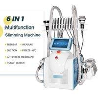 Profissional Polular Cryolipolysis Fat Congele Máquina para todas as peças do corpo Rugas Reduzir Lipolaser Cavitação RF Equipamento