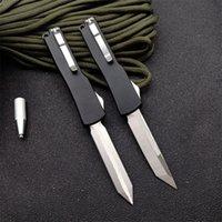 CNC micro-tecnologia mini ut-70 automático faca tática auto faca 7cr17 lâmina liga de alumínio liga de alumínio acampar faca ao ar livre ut88 ut85 EDC ferramenta