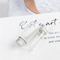 4ml contenitore di vetro con spirale d'argento alluminio Cap Piccolo Radura Mestiere Vial e adatto a Wishing cosmetici bottiglie riutilizzabili