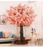 20 조각 벚꽃 지점 핑크 체리 장식 결혼식 아치 꽃 파티 활동 복숭아 나무 꽃 branch1