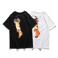 19SS Moda Mujeres Hombres Estilista T Shirts Hombres Hip Hop Streetwear Amigos de Algodón Manga corta Mujeres Grandes Monopatín Tees
