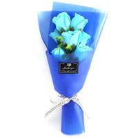 الإبداعية 7 باقات صغيرة من روز زهرة محاكاة الصابون زهرة لحضور الزفاف عيد الحب يوم الأمهات يوم المعلمين هدية الزهور الزخرفية