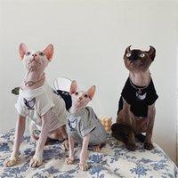 الملابس القطيفة القط الحيوانات الأليفة sphinx الزى الألمانية متعفلة الفنية زوجين الأم والملابس القطن ملابس الحيوانات الأليفة للكلاب الصغيرة 201225