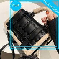 Элегантная женщина Pluche Tote 2021 Мода Новое Качество PU Увезнайте женщин Дизайнерская сумка с высокой емкостью