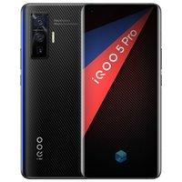 "Original vivo iqoo 5 pro 5g Handy 8 GB RAM 256GB ROM Snapdragon 865 Octa Core Android 6.56 ""Vollbild 50MP AR NFC 4000mAh Wake Face ID Fingerprint Smart Handy"