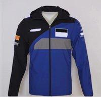 Yeni Moto Sonbahar / Kış Yarışı Takım Elbise Motosiklet Sürme Rüzgarlık Ceket Rider Ceket Rüzgar Geçirmez Kazak