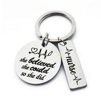 Anahtarlıklar Anahtarlık o inandı Anahtarlık koşucu dansçı voleybol basketbol softball spor ilham hediyeler için her1