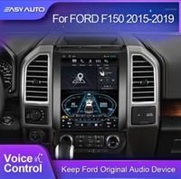 Per F150 Raptor 2012-2020 Autoradio multimediale Video Player Video Navigazione GPS Android 9.0 4 + 64G 2 DIN DVD Bluetooth ADAS DVR1