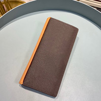 كلاسيكي أزياء رجالي محفظة محفظة Luxurys مصممين محفظة حامل البطاقة Portefeuille Portafoglio Zippy Wallet Franco Fret L027