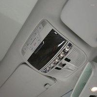 Accessoires de voiture Décoration de panneau de lumière de la fibre de carbone mous pour la classe C W205 C180 2016-20191