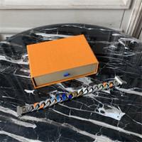 361 Titaniumstahl Armband mit Diamanten Glänzend Unisex Armband Hohe Qualität Persönlichkeit Kette Armband Modeschmuckversorgung