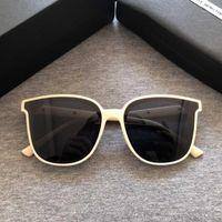 2020 Brand Donne Square Cornice Square Occhiali da sole Moda Donna Vintage Eyewear Delicata Designer Occhiali da sole Popolare Star GM Beige Glasses1