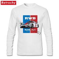 T-shirt classiche classiche in difficoltà Homme funky graphic cotone tees maglietta manica lunga JDM T Shirt 201117