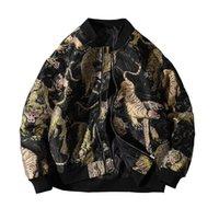 2020 NUEVO SUPZOOM LLEGADA LLEGADA ANIMAL ZOMPTER SOBRE RERIJA CORTE CASUAL SANGE BOMBER HOMBRE MAN Uniforme Jacket de algodón Ropa de marca LT88