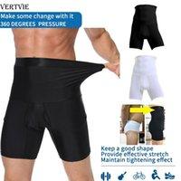 Беговые штаны Vertvie Men Tummy Control Шорты Высокая талия Стройное нижнее белье Формируют Body Fress Book Boxer Works Boards