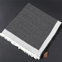 Sciarpa classica classica di alta qualità Sciarpa di moda scialle di moda 140 * 140 cm senza scatola