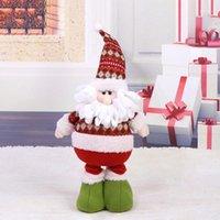 Милый гибкий олень кукла новогодние украшения рождественские украшения рождественские дерево висит украшения подарок могут растянуть рождественские дети подарок # 2542551