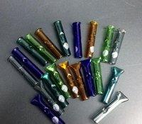 Reiche farbe glas tabak trocken kraut cypress hills punktky fühlt tipps rohr zigarettenfilter länge 40mm rohr öl nagel uiyuiyiuyi