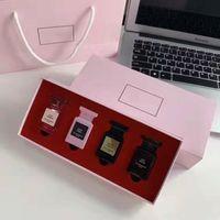 Sıcak Satış Parfüm Seti 7.5ml * 4 Kayıp Kiraz / Rose Prick / Oud Ahşap / Beyaz Süet Parfüm Seti 4 1 in 1 Kutu ile