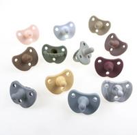 Baby Neugeborener Dummy-Schnuller Grade Weiche Silikon Beißring Nippel Schneirte Säuglingspflege Kauspielzeug By1645