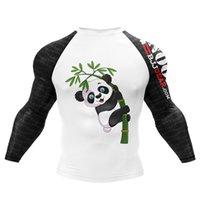 Hommes MMA T-shirt Panda Impression Guards Garçon Garçon Hommes Funny Sportswear T-shirts LJ200827