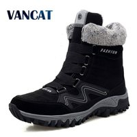 New Winter Men's Peluche Calda Caviglia Coppie impermeabili Snow Snow Stivali Desert Stivali Military Boot Big Sit 35-46 201119
