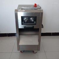 Meuleuses de viande Promotion 2200W Machine de découpe de Dicer fraîche Coupe d'électricité commerciale Slicer Prix de mincère1