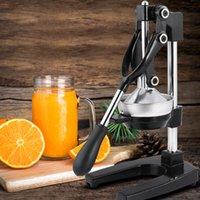 Neue manuelle Haushaltsfrucht Juicer Granatapfel Orange Juicer Tragbare Kompakte Juicer Rot Schwarz Küche liefert US-Bestände