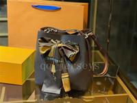 Diseñador de lujo de alta calidad Bolsa de hombro para mujer Escale Neonoe Bolsa de Crossbody Bolsos de cuero genuino Correa ajustable Nueva moda
