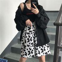 Houzhou Summer Vache Imprimer Pantalons Femmes Style coréen Pantalon Taille Pantalon Femmes Surdimenseurs Harajuku Pantalons pour Streetwear Fashion1