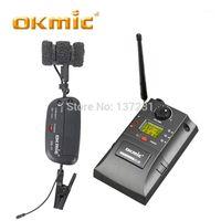 Micrófonos OKMIC OK-8R / OK-17 Professional UHF PLL Instrumento Sistema inalámbrico Micrófono para saxofón MIC Audio 830MHz-842MHZ1