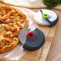 الدورة الدائرية سكين بار البيتزا القاطع الفولاذ المقاوم للصدأ اكسسوارات المطبخ انفصال سكاكين قابل للغسل المحمولة أداة الغطاء RRD4316