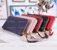 Высокое качество 60571 Женские тисненые кожаные кошельки Мужской одиночный монетный кошелек монеты кошелек цветочный сетка маленькая сумка Оранжевая коробка 60017