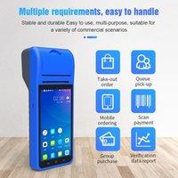 """الطابعات 5.5 """"HD IPS Screen 3G WiFi PDA Terminal Landheld طابعة Smart Wireless Bluetooththermal لطابعة ل 1D 2D الباركود Scanning1"""