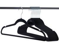 عدم الانزلاق المخملية الشماعات دعوى الشماعات مساحة توفير الملابس شماعات رقيقة جدا توفير 360 درجة دوارة هوك قوي ودائم 50 قطع