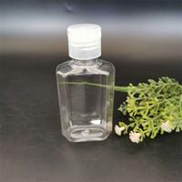 60ml octagonal embotellado separado manual vacío desinfectante mascota tapa botella de extrusión botella de extrusión portátil transparente embotelles nuevo 0 32kd g2