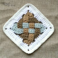 Mão Nórdica - Gancho De Malha De Casamento De Disco De Disco Mat-pad Crochet Multicolor Doilies Flores Colocomias 11cm Mulher Vestido Patch 20pc T200708