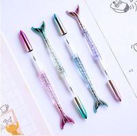 Stylo de gel de sirène pour les stylos Nettural Fournitures de bureau de l'école Kawaii Papeterie Cadeau Étudiant Écriture Mode Creative Neutre Pen DDB3755
