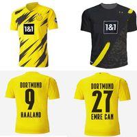 20 21 Dortmund Soccer Jersey 2020 2021 Camicie da calcio Bellingham Sancho Hummels Brandt Men Maillot De Piede