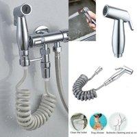 El Tuvalet Bide Püskürtücü Set Kiti Paslanmaz Çelik El Bide Musluk Banyo El Püskürtücü Duş Başlığı Kendini Temizleme için1