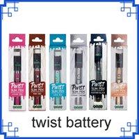 2021 0One Batterien Vorheizung VV einstellbarer Verdampferbatterie 350mAh Einzelpaket Variable Spannung E Zigarette 510 Thread Vape Pen