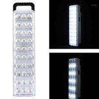 Linternas portátiles 30/60/90 LED Luz de emergencia Rectángulo Ahorro de energía Fuego Recargable Blanco Comercial1