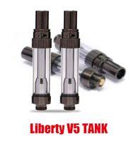 ItsUWA Amigo Liberty V5 Tankı Seramik Bobin 510 Vape Kartuşu 0.5ml 1.0 ml Büyük Buhar Özgürlük V1 V3 V9 100% Orijinal