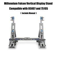 Millennium brinquedos Falcon display vertical stand compatível com 05007 e 75105 Ultimate Collector's Model Q1126