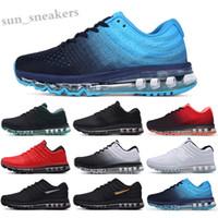 MAX 2017 2019 Sıcak Satış Yüksek Kalite Örgü Örgü Ayakkabı Erkekler Kadınlar 2017 Koşu Ayakkabıları Spor Ucuz Eğitmen Sneakers ABD Boyutu 5.5-11 RG06