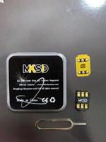 Hot 3Hours! GRATIS DHL MKSD IOS14.X Sblocco Adesivo Adesivo Glue Vsim V6 V7 Sblocco SIM card per iOS 13.x US / T-mobile, Sprint, Africa Ghana NG OT